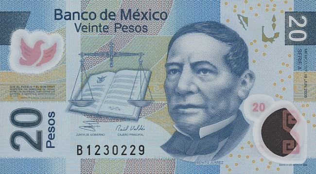 деньги в мексике фото