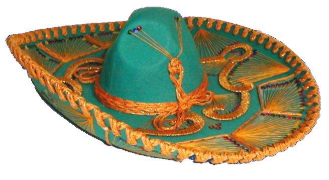 Сомбретро - мексиканский сувенир из Канкуна