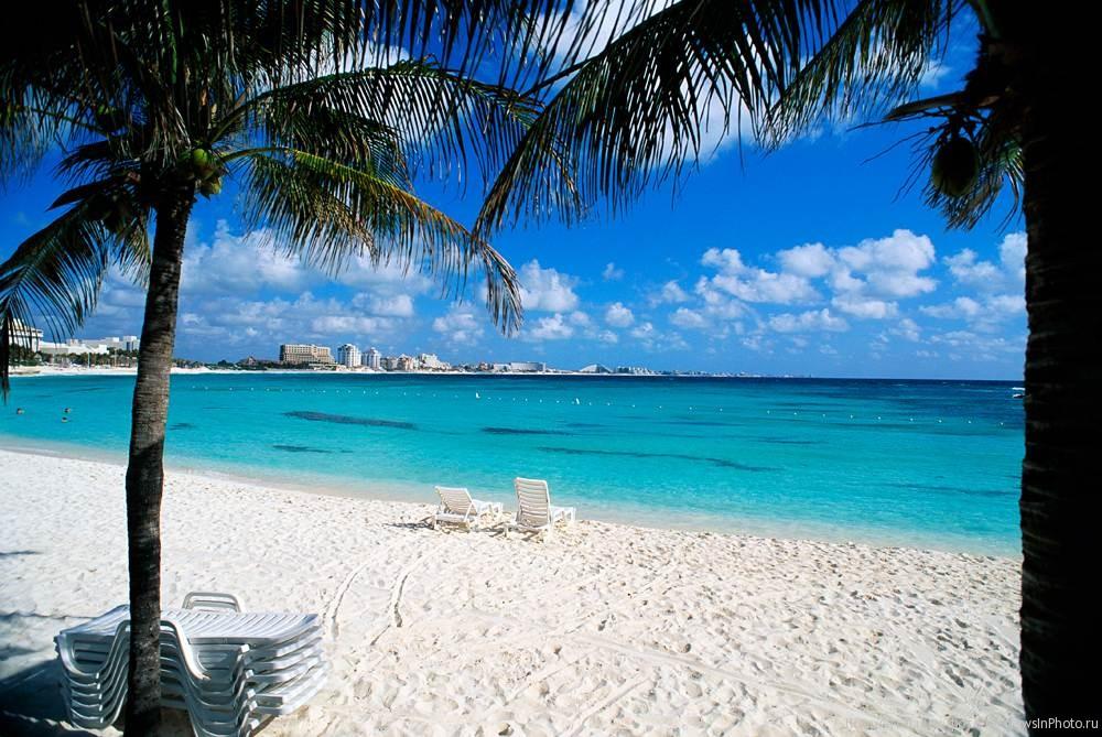 Фото пляжа Канкуна