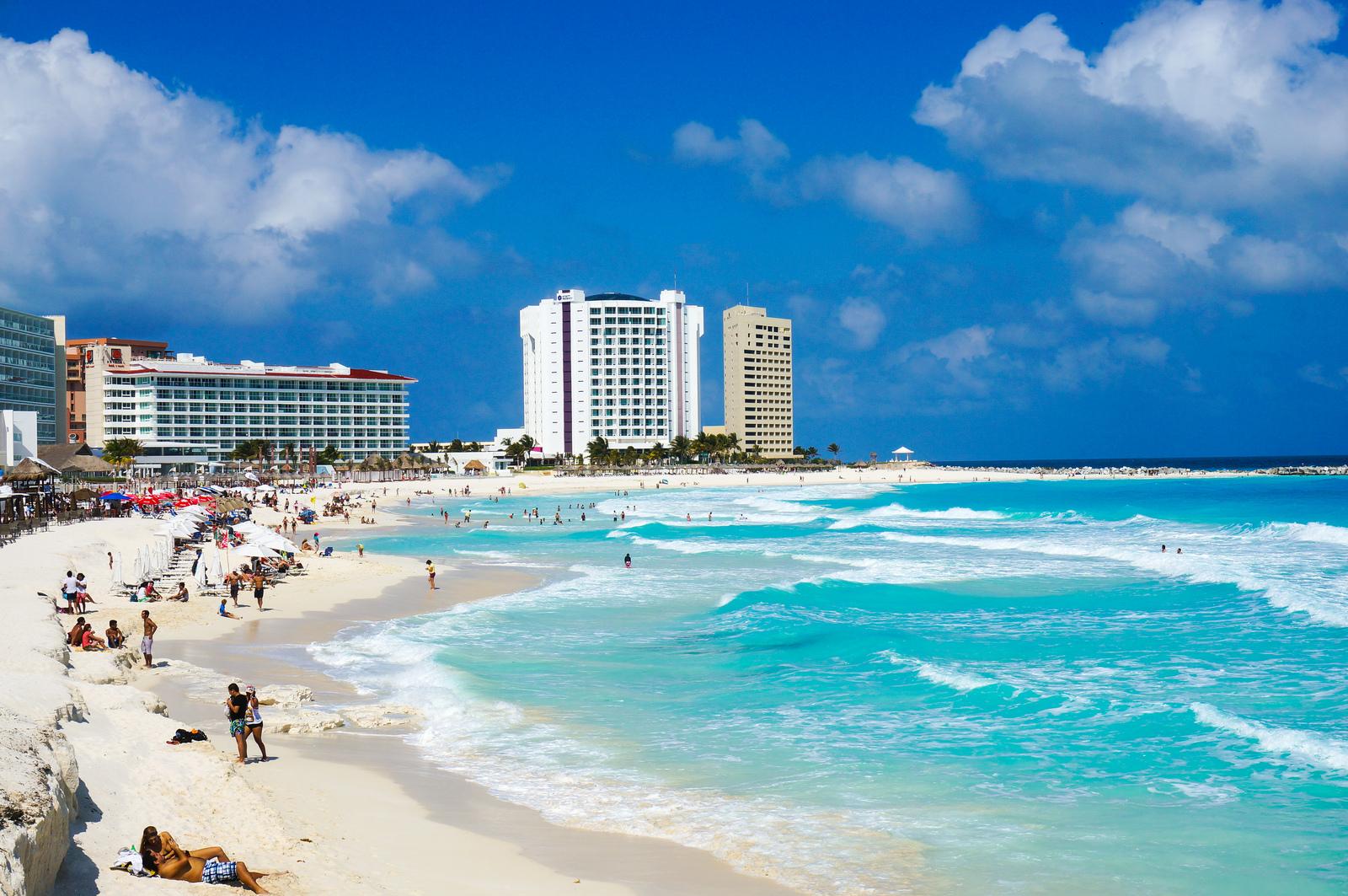 Фото Карибского моря, Канкун, Мексика